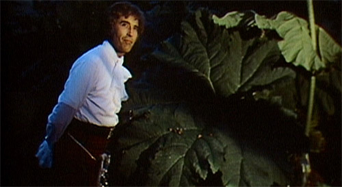 Christopher Lee, plus kilt