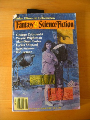 Fantasy &amp; Science Fiction, April 1987